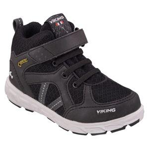 Viking Footwear Kid's Alvdal Mid Reflex Gore-Tex Sort