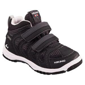 Viking Footwear Kid's Cascade II Mid Gore-Tex Sort