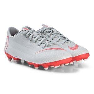 NIKE Grey Mercurial Vapor XII Academy MG Football Boots 36.5 (UK 4)
