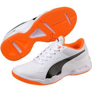 Puma Tenaz Fotballsko JR, White/Orange 36