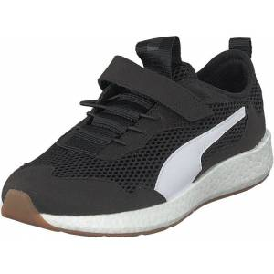 Puma Nrgy Neko Skim Ac Ps Puma Black-puma White, Skor, Sneakers och Träningsskor, Sneakers, Svart, Barn, 29