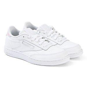 Reebok White Club C Junior Sneakers Barnskor 35 (UK 3.5)