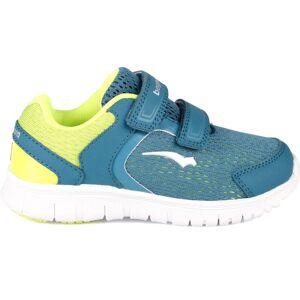 Bagheera Zippy Sneaker, Navy/Lime 23