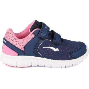 Bagheera Zippy Sneaker, Dark Violet/Pink 24