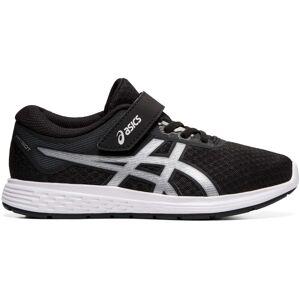Asics Patriot 11 PS Sneaker, Black/Silver 35