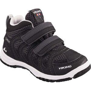 Viking Cascade II Mid GTX Sneaker, Black/Grey 29