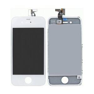 Apple iPhone 4 komplet LCD display+Touch, Hvid røreved skærm røre æble ved