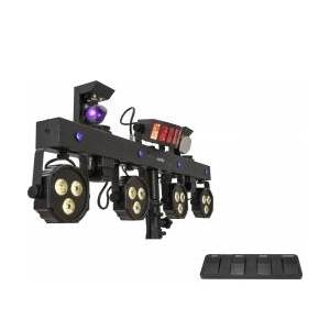 EuroLite Set LED KLS Scan Next FX Compact Light Set + Foot switch TILBUD NU