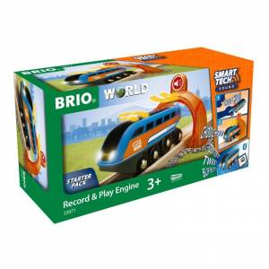 Brio World - Smart Tech Lokomotiv - Batteridrevet - 33971