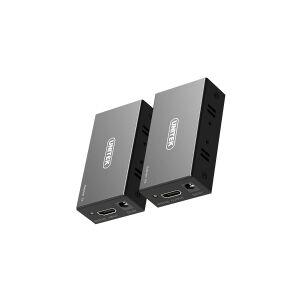 UNITEK AV Unitek 60M Extender HDMI signal transmission system over Ethernet (V100A)