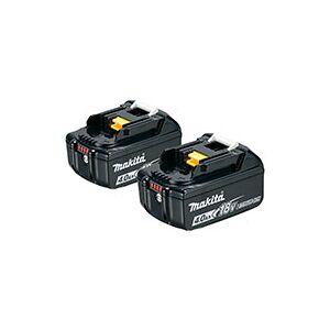 Makita Batterisæt BL1840B 2.stk  (18V)  4,0Ah Sort