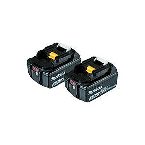 Makita Batterisæt BL1850B 2.stk  (18V) 5,0Ah Sort