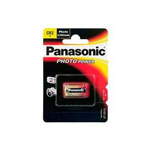 Panasonic CR2 batteri Lithium - Panasonic 1 stk