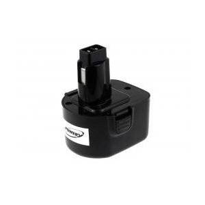 Black & Decker Batteri til Black & Decker KC12K 2000mAh