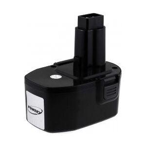 Black & Decker Batteri til Black & Decker KC14XC 3000mAh NiMH