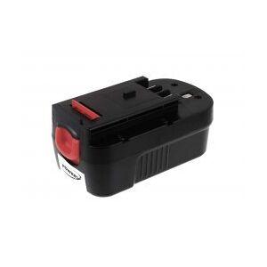 Black & Decker Batteri til Black & Decker CDC180AK 2000mAh