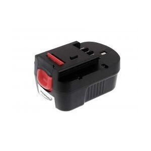 Black & Decker Batteri til Black & Decker Typ A144EX 2000mAh