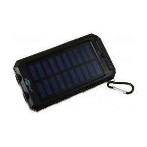 goobay Outdoor Powerbank Solar Lader inkl. Lommelygtefunktion 8000mAh
