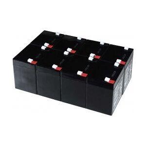 APC Powery Bly-Gel-Batteri til USV APC Smart-UPS XL Modular 1500 Rackmount/Tower