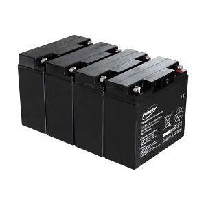APC Powery Bly-Gel Batteri til UPS APC Smart-UPS SMT3000I 20Ah (erstatter også 18Ah)