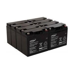 APC Powery Bly-Gel Batteri til UPS APC Smart-UPS SUA5000RMI5U 20Ah (erstatter også 18Ah)