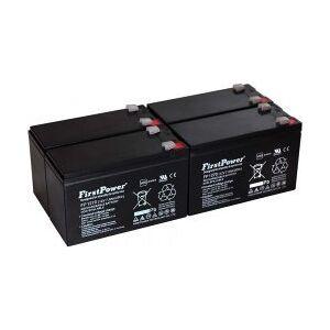 APC FirstPower Bly-Gel-Batteri til UPS APC Smart-UPS SURT2000XLI 7Ah 12V