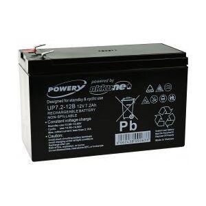 APC Powery Bly-Gel-Batteri til USV APC Back-UPS BE700-GR