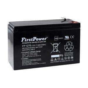 APC FirstPower Bly-Gel-Batteri til UPS APC Back-UPS 500 7Ah 12V