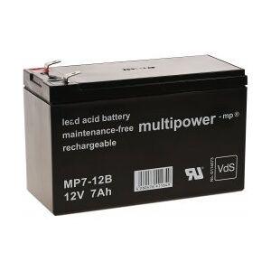 APC Erstatningsbatteri (multipower) til UPS APC Back-UPS BK500-UK 12V 7Ah (erstatter 7,2Ah)