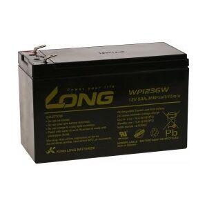 APC KungLong Bly-Gel-Batteri til UPS APC Back-UPS BK350-GR 9Ah 12V (Erstatter også 7,2Ah / 7Ah)