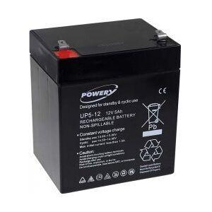 APC Powery Bly-Gel-Batteri til APC RBC 29 5Ah 12V