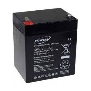 APC Powery Bly-Gel-Batteri til APC RBC 46 5Ah 12V