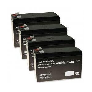 APC Powery Bly-Gel-Batteri til UPS APC RBC31 9Ah 12V