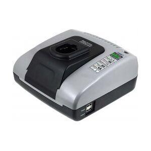 Black & Decker Powery Batteri-Lader med USB til BLACK & DECKER Batteri Type DE9038