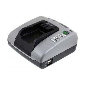 Black & Decker Powery Batteri-Lader med USB til Black & Decker Type Slide Pack FIRESTORM FSB12