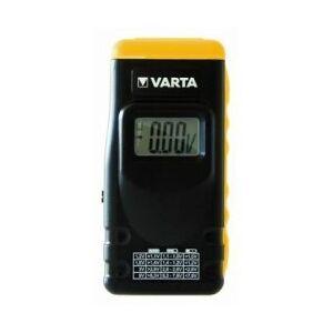 Varta Batteri Tester med LCD-Display til Batteri og knapceller