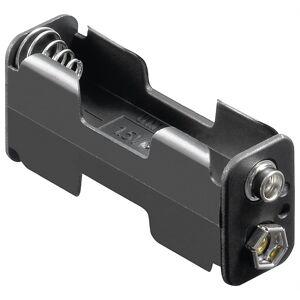 Goobay 2x AA (Mignon) batteriholder