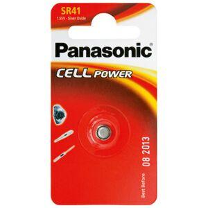 Panasonic SR41EL/1B Batteri 1 Stk.