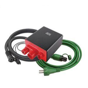 DEFA LADEKIT 1204 DK, MED DIV. LEDNINGER
