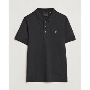 Scott Lyle & Scott Plain Pique Polo Shirt Jet Black men XL Sort