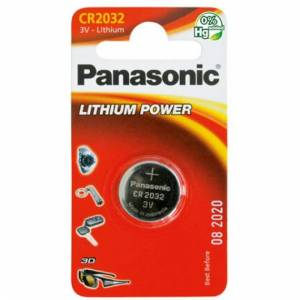 Panasonic CR2032 batteri 1 stk