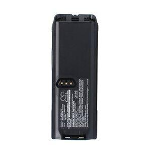 Motorola Tetra MTP300 akku (2500 mAh, Musta)