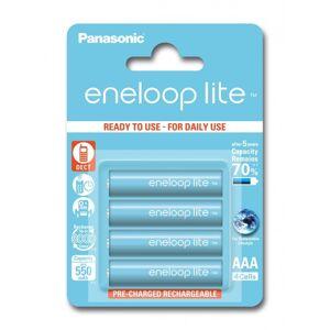 Eneloop Lite R03/AAA Akkuparisto 550mAh - 4 kpl