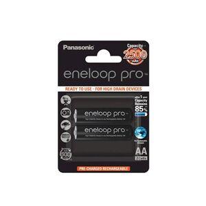 Eneloop Pro R6 / AA 2500 mAh ladattava akku – 2 kpl