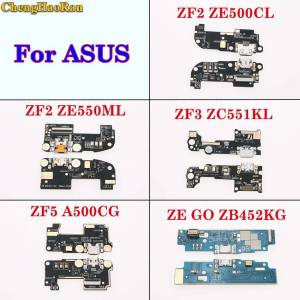 Asus ChengHaoRan For ASUS ZenFone 2 ZE500CL/KL ZE550ML ZF 3 ZC551KL ZF5 A500G ZF GO Micro USB Charging Port Flex Cable Dock Connector