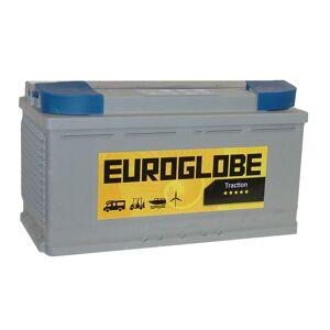 Euroglobe 77650 90Ah Forbruksbatteri til bobilen 353x173x190mm