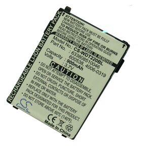 6.34E+11 Batteri 3,7 Volt 900 mAh