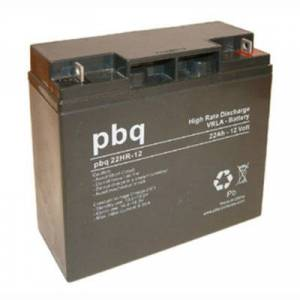 12V 22Ah AGM batteri Høy strøm 181x77x167 M5