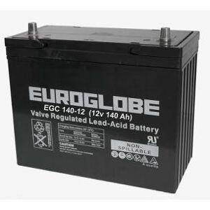 AGM Batteri EGC140-12, 140 Ah 12 volt LBH 345x173x275 , m/poler 295
