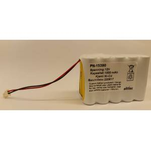 12V 1200mAh Batteri for Sikom GSM Modul